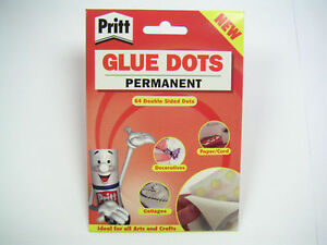 GENUINE PRITT GLUE DOTS REPOSITIONABLE OR PERMANENT