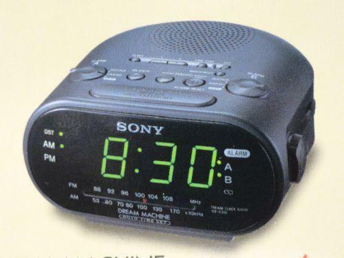 alarm clock radio ebay. Black Bedroom Furniture Sets. Home Design Ideas