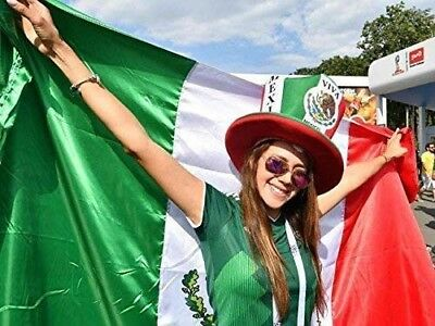 new 3x5 polyester mexico flag outdoor body