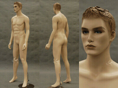 Male Mannequin Manequin Manikin Dress Form Display Md-km26f