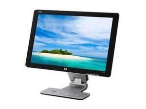 "HP W2408H 24"" Widescreen LCD Monitor No Dead Pixels RRP $950 Hobart CBD Hobart City Preview"