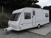 Fixed Twin Bed Caravan