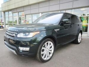 2016 Land Rover Range Rover Sport DIESEL Td6 HSE/Leather/Panoram