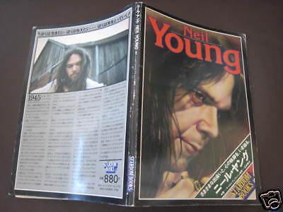 Neil Young Stardom Japan Book CSNY Buffalo Springfield