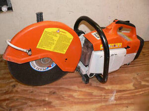 Stihl cut off saw for rent