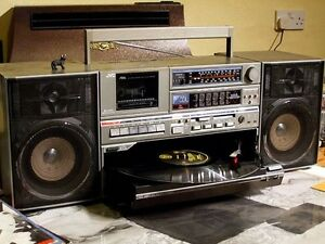 VINTAGE AND VERY RARE: JVC DC-33 1984 Boombox - original owner