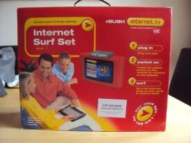 Brand New and boxed Bush Internet.tv Surf set IBX250 version only £5