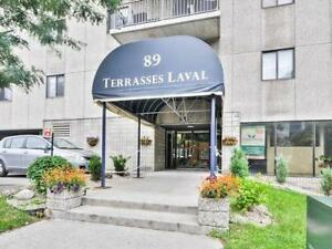 2 bedroom condo in downtown Hull, 2 km away from downtown Ottawa