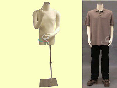 Male Mannequin Manequin Manikin Dress Form M01armbs-05