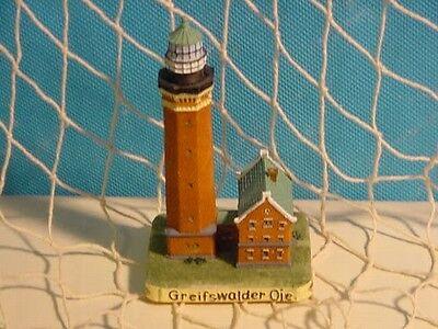 Leuchttürme - Maritime Deko - Leuchtturm Greifswalder Oie ca. 11 cm Polystone