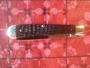 Vintage Case Red Bone Knife