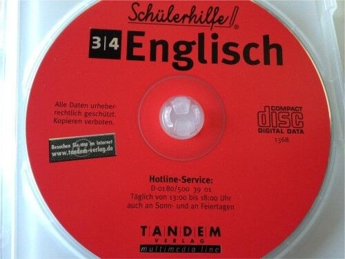 CD ROM Schülerhilfe Englisch 3. / 4. Klasse in Fürth