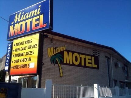 Motel Room available at Miami Motel for short or long term