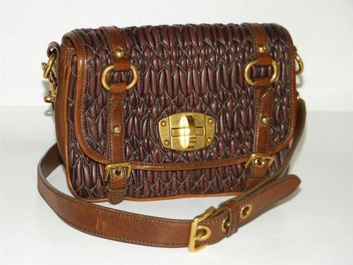 d8b520572e9b MIU MIU Matelasse  Handbags   Purses