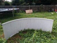 Radiator Curved For Bay Window 207cm X 70cm