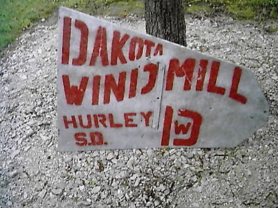 8ft Dakota Windmill Aermotor A-702 Vane Nos A31