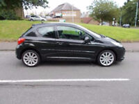 2007 PEUGEOT 207 GT 150 BHP 1.6 TURBO BMW ENGINE, VERY ECONOMICAL 40 MPG! Bargain! Needs To Go!