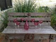 Cranberry Decanter