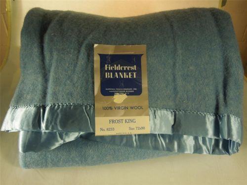 Fieldcrest Blanket Ebay
