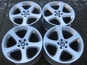 """GENUINE BMW X5 Style 87"""" Rims staggered 20"""" 4.6is 4.8I M Flawles"""