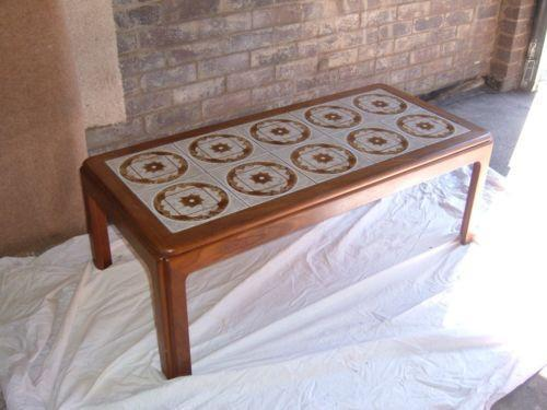 G Plan Tiled Coffee Table Ebay