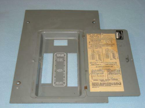 federal pacific panel | ebay 30 amp screw in fuse box #9
