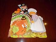 Vintage Thanksgiving Die Cut