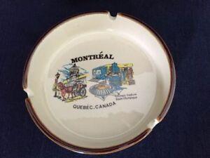 Vintage Souvenir Ashtray Olympic Stadium Montreal Quebec