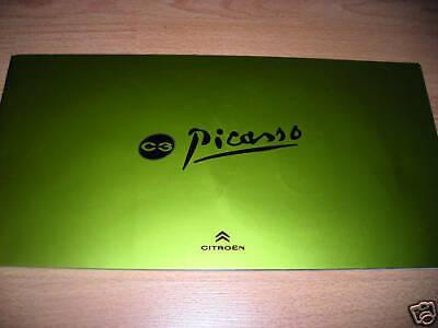 CITROEN C3 PICASSO dossier de presse media press kit Mondial PARIS 2008 comprar usado  Enviando para Brazil
