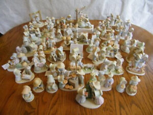 Home Interiors Homco Circle Of Friends Figurine Reference List w/Color Pictures