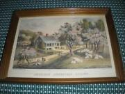 Currier and Ives Prints