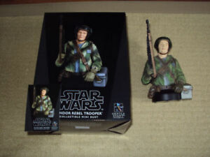 GENTLE GIANT, STAR WARS ENDOR REBEL TROOPER BUST, #467 OF 1000
