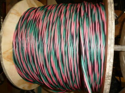 375 Ft 122 Wg Submersible Well Pump Wire Cable - Solid Copper Wire