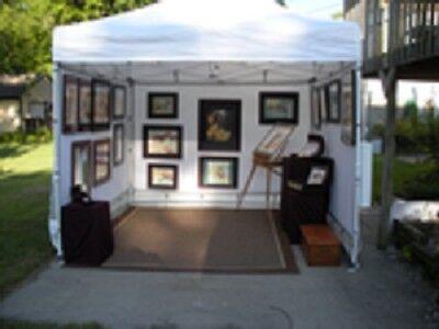 art show complete display setup
