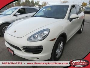 2012 Porsche Cayenne LOADED 'S-EDITION' 5 PASSENGER 3.0L - V6 HY