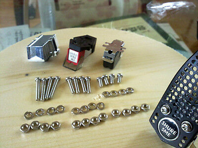 Phono cartridge screws