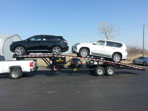 Car Trailer Hauler Enclosed Aluminum Carrier Ebay