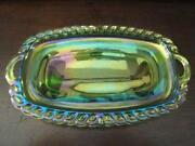 Antique Green Glass Dishes