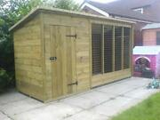 Dog Kennel and Run 10 x 4