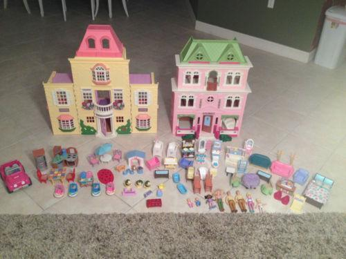 fisher price loving family dollhouse accessories ebay. Black Bedroom Furniture Sets. Home Design Ideas