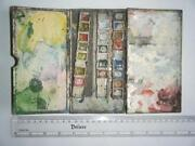 Vintage Watercolor Box