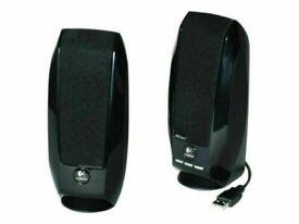 Logitech S-150 Digital USB Computer Speakers - Black (980-000029)