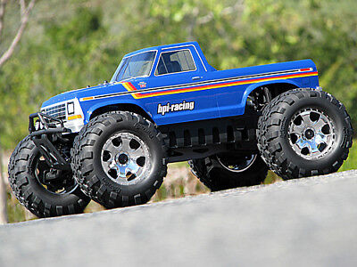 HPI RACING SAVAGE X 4.6 GT-2 105127 1979 FORD F-150 Body-Genuine NEW part!