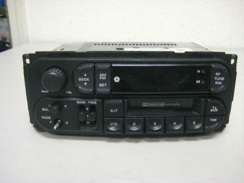 2001 Chrysler Town And Country Radio EBay
