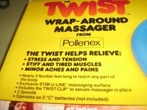 REDUCED!- TWIST Wrap-Around Massager