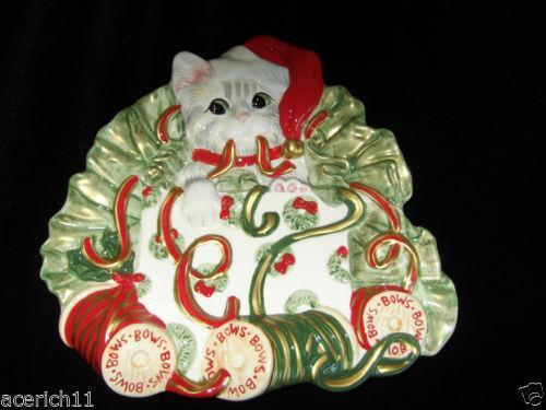 Fitz And Floyd Christmas Dinnerware