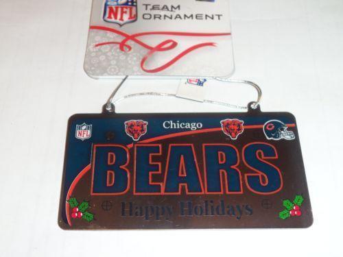 Chicago Bears License Plate Ebay