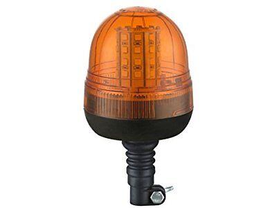 12V/24V 40 SMD LED  Rundumleuchte flexible mit 3 Funktionen Warnleuchte Orange