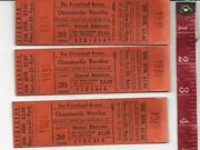 Wrestling Ticket Stub