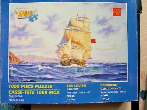 Sea Cruise 1000 Piece Jigsaw